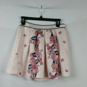 Juicy Couture Women Silk Skirt Size 0 NWT Floral